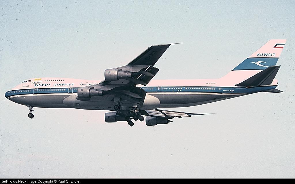 9K-ADA - Boeing 747-269B(M) - Kuwait Airways