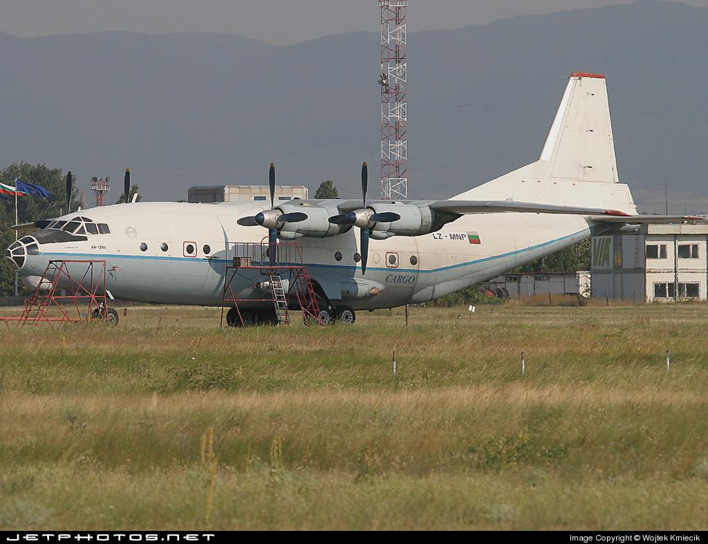 LZ-MNP - Antonov An-12BK - Scorpion Air