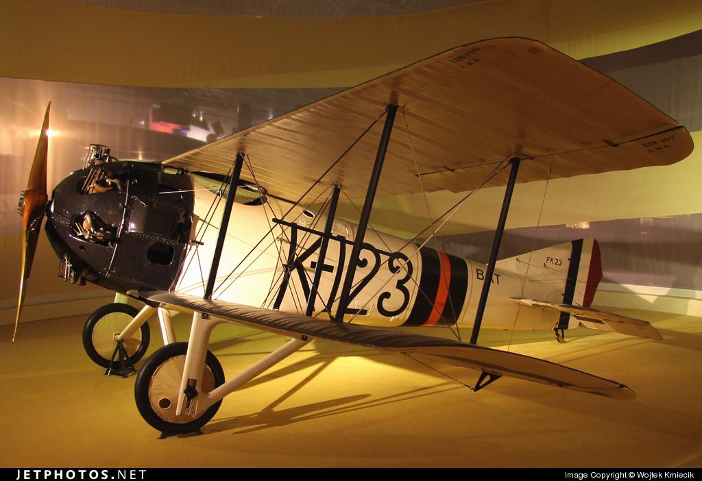 K-123 - Koolhoven FK-23 - Aviodrome Museum