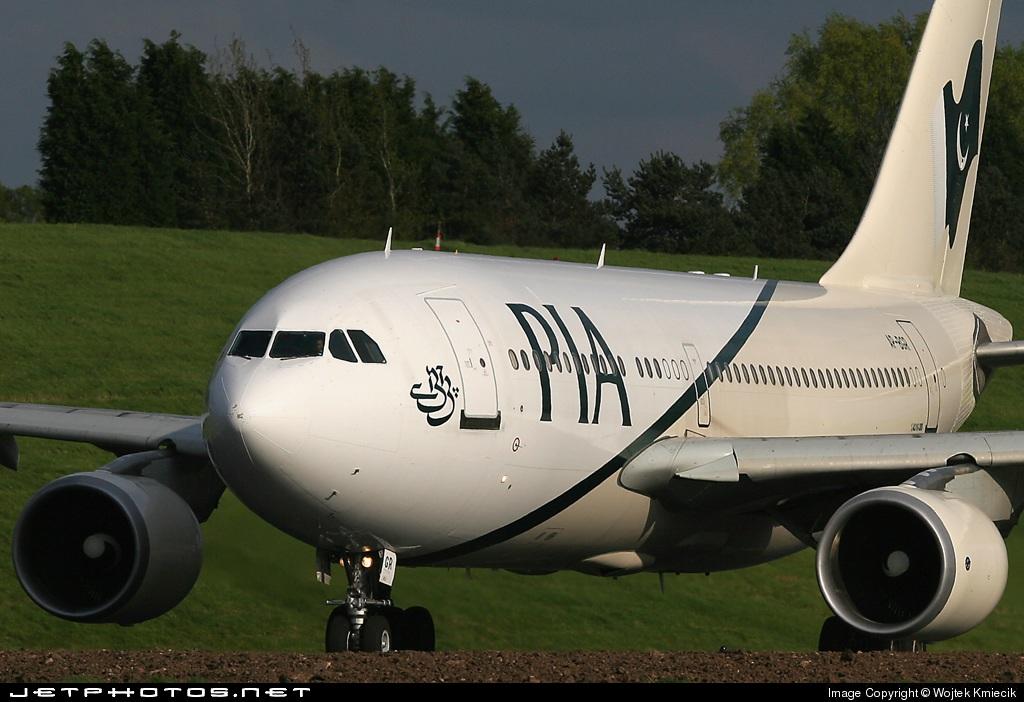 AP-BGR - Airbus A310-325(ET) - Pakistan International Airlines (PIA)