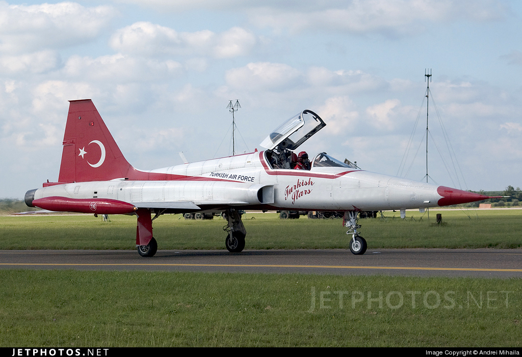 70-3016 - Canadair NF-5A Freedom Fighter - Turkey - Air Force