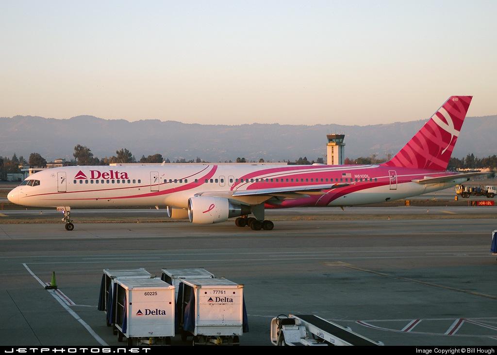 N610DL - Boeing 757-232 - Delta Air Lines