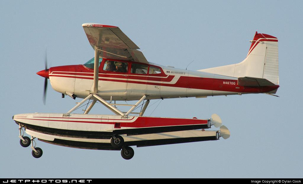 N4670Q - Cessna A185F Skywagon - Private