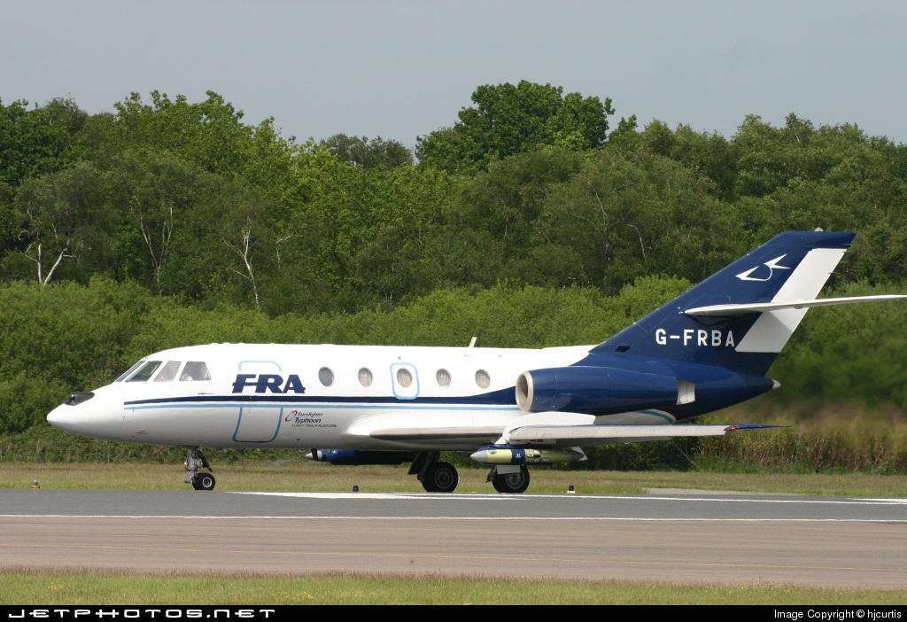 G-FRBA - Dassault Falcon 20C - FR Aviation