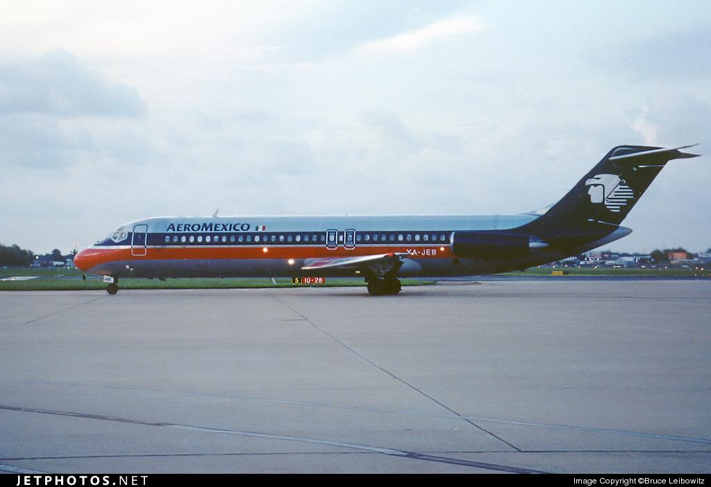 XA-JEB - McDonnell Douglas DC-9-32 - Aeroméxico