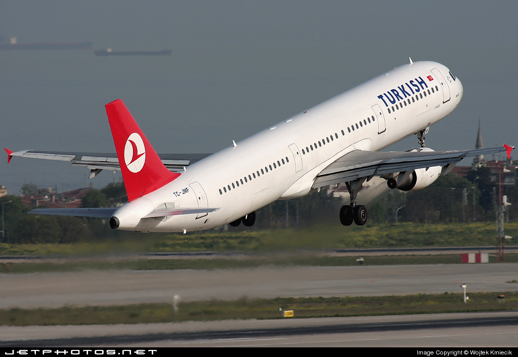 TC-JMF - Airbus A321-211 - Turkish Airlines