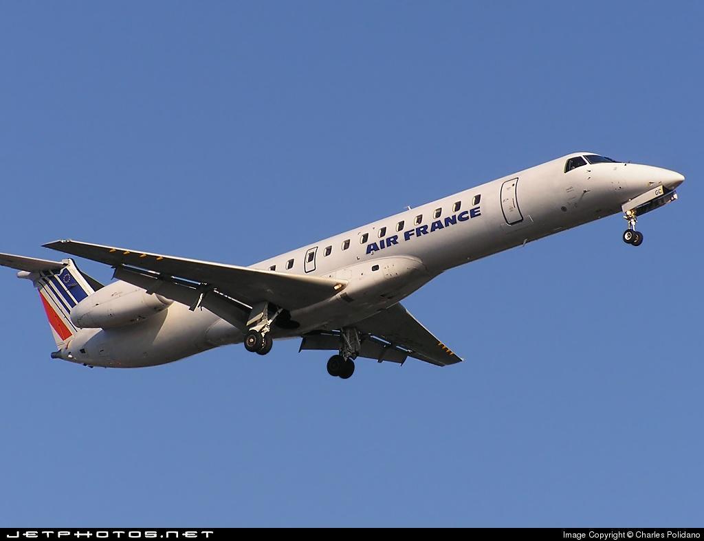 F-GRGC - Embraer ERJ-145EU - Air France (Régional Compagnie Aerienne)