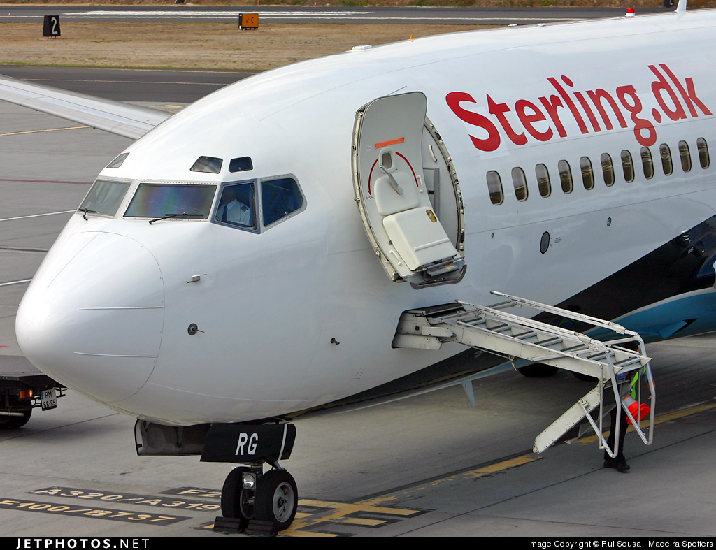 OY-MRG - Boeing 737-7L9 - Sterling Airlines
