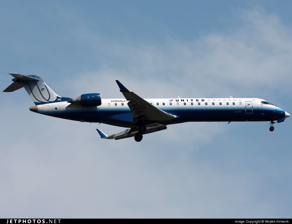 N165GJ - Bombardier CRJ-702 - United Express (GoJet Airlines)