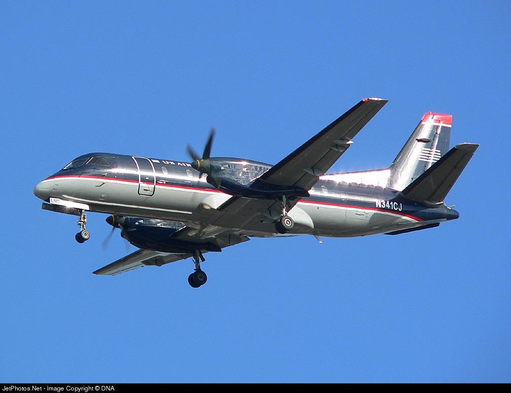 N341CJ - Saab 340B - US Airways Express (Colgan Air)