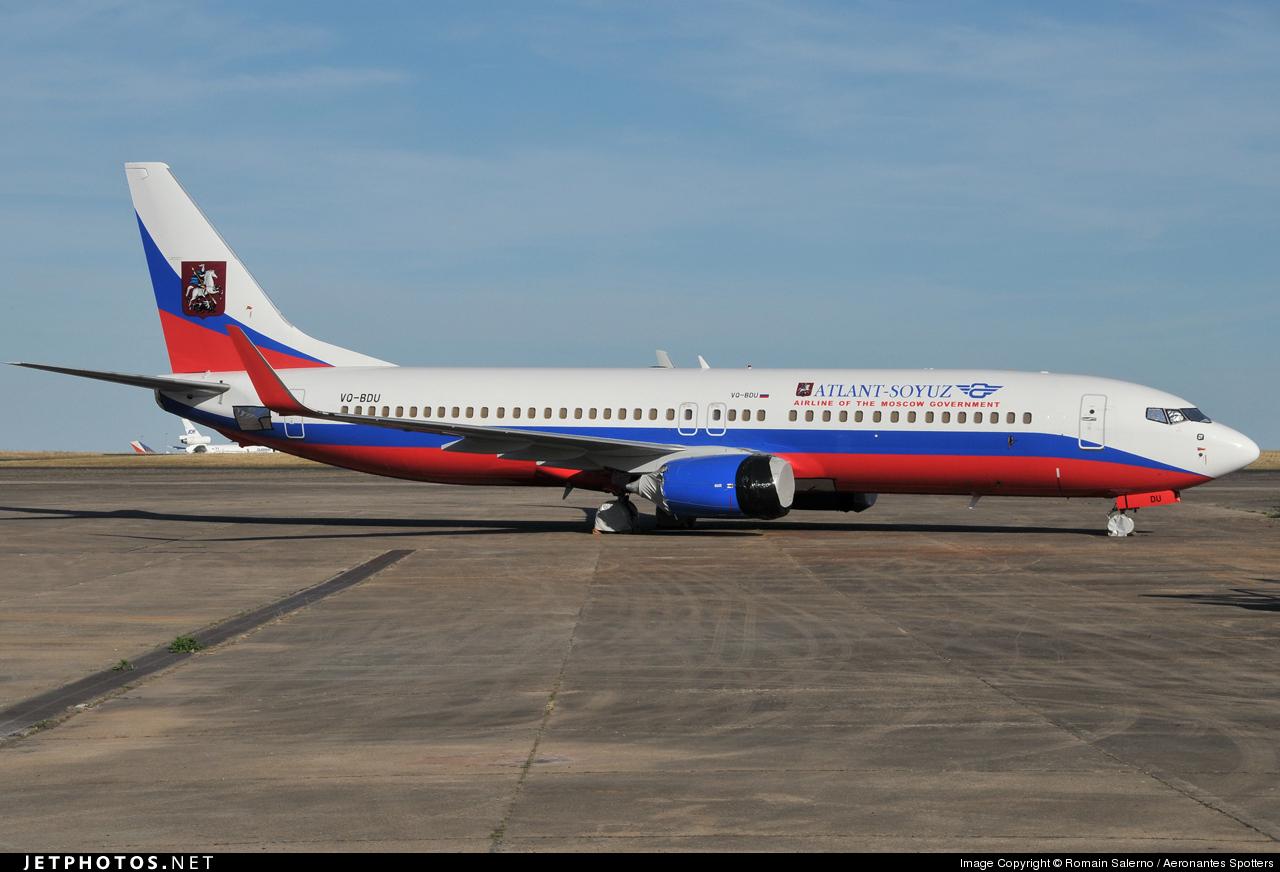 VQ-BDU - Boeing 737-8AS - Atlant-Soyuz Airlines