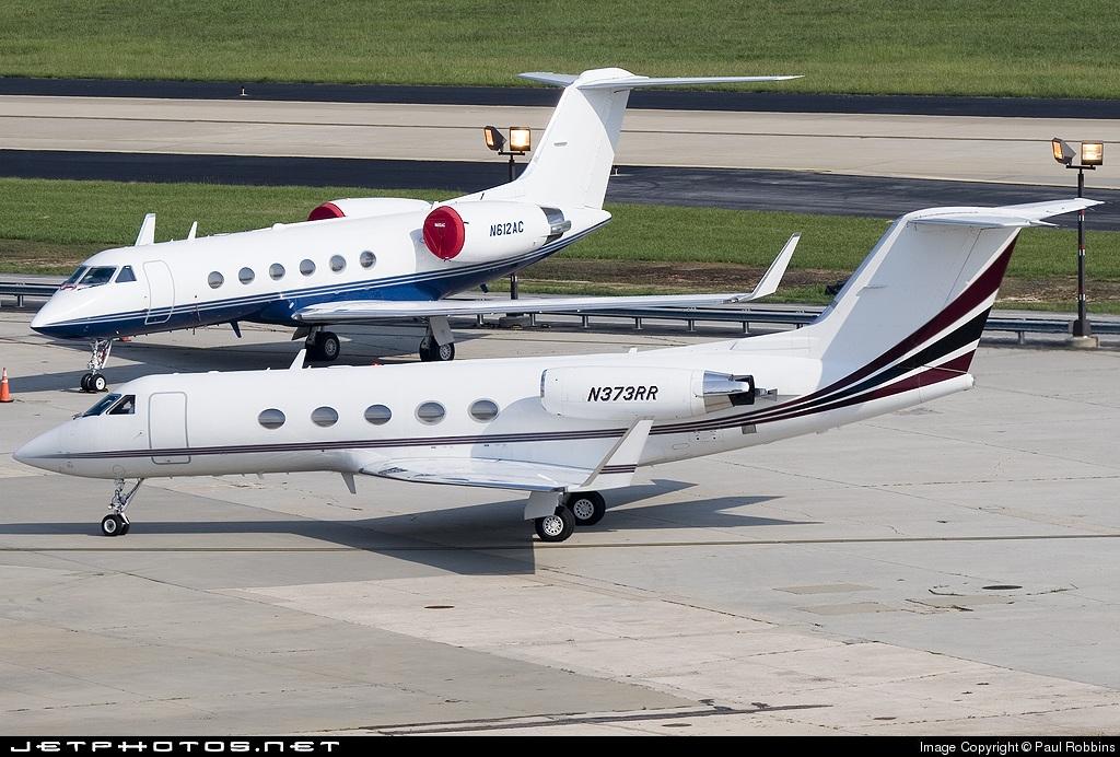 N373RR - Gulfstream G-III - Private