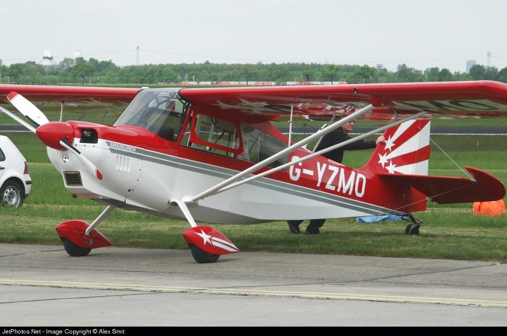 G-YZMO - American Champion Aircraft 8KCAB Super Decathlon - Blue Yonder Aviation