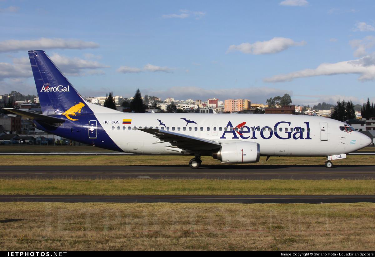 HC-CGS - Boeing 737-3S8 - AeroGal Aerolíneas Galápagos