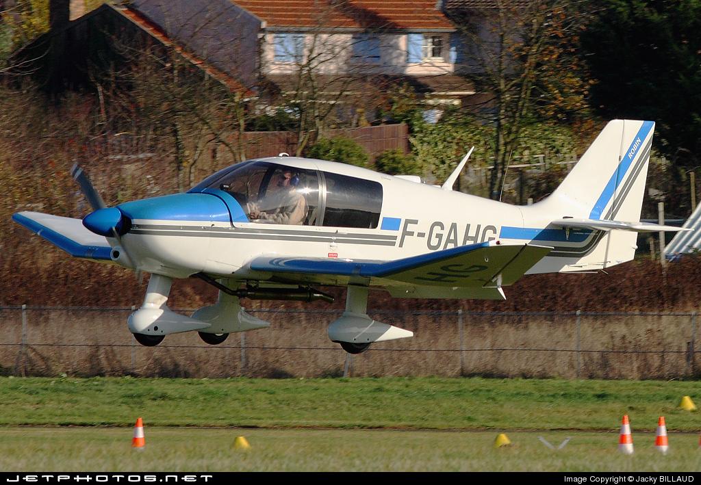 F-GAHG - Robin DR400/140B Major - Private