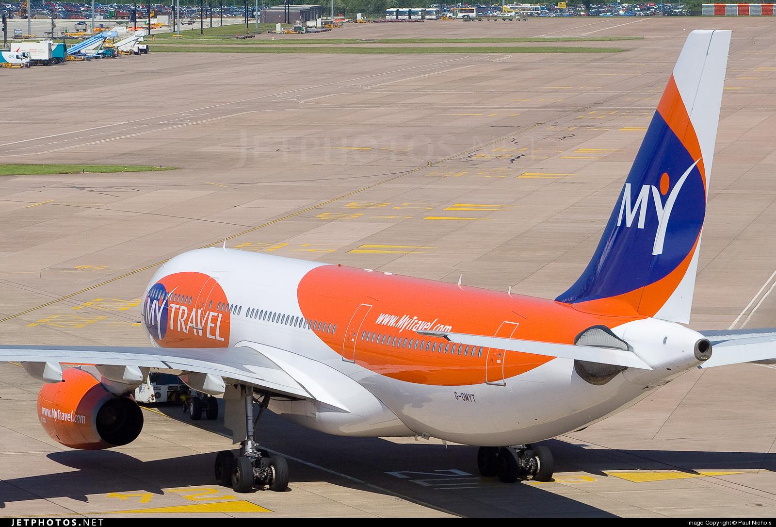 G-OMYT - Airbus A330-243 - MyTravel Airways