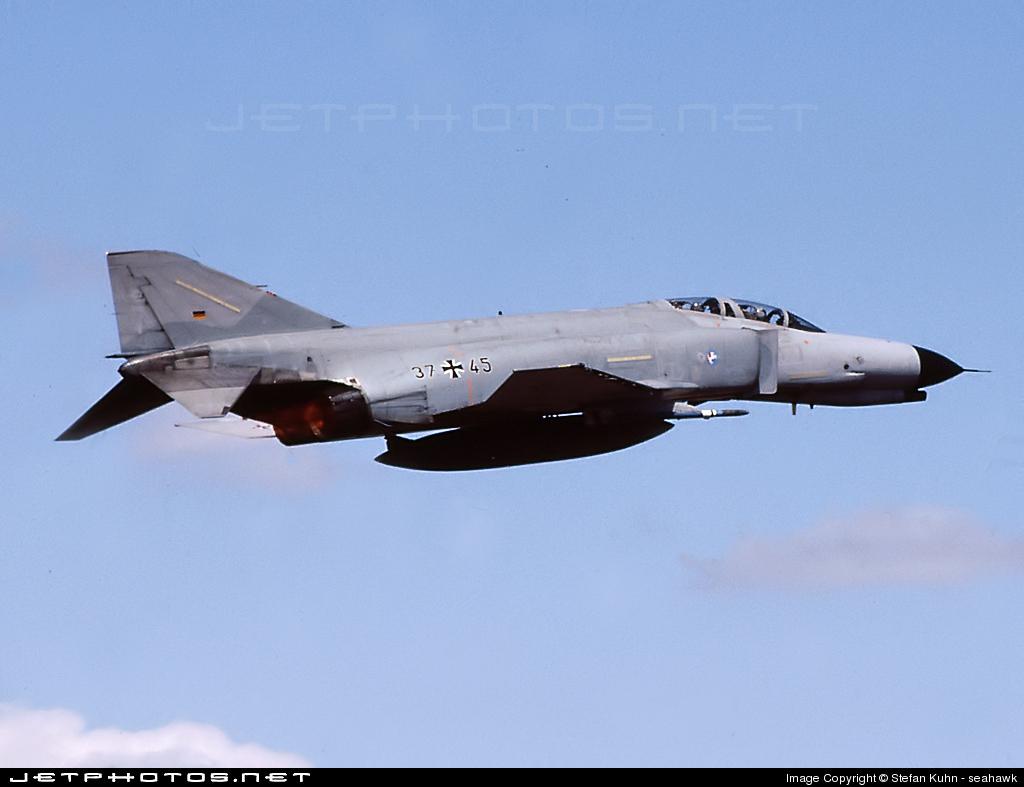 37-45 - McDonnell Douglas F-4F Phantom II - Germany - Air Force
