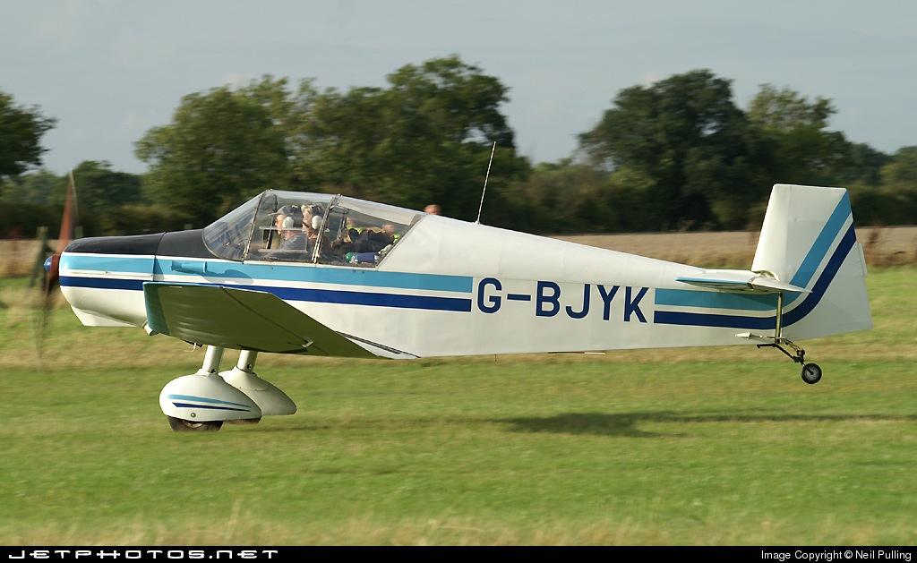 G-BJYK - Jodel D120A Paris-Nice - Private