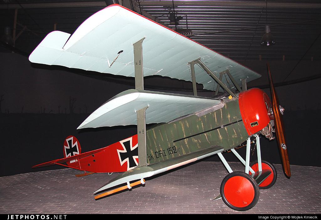 152 - Fokker DR.1 - Germany - Air Force