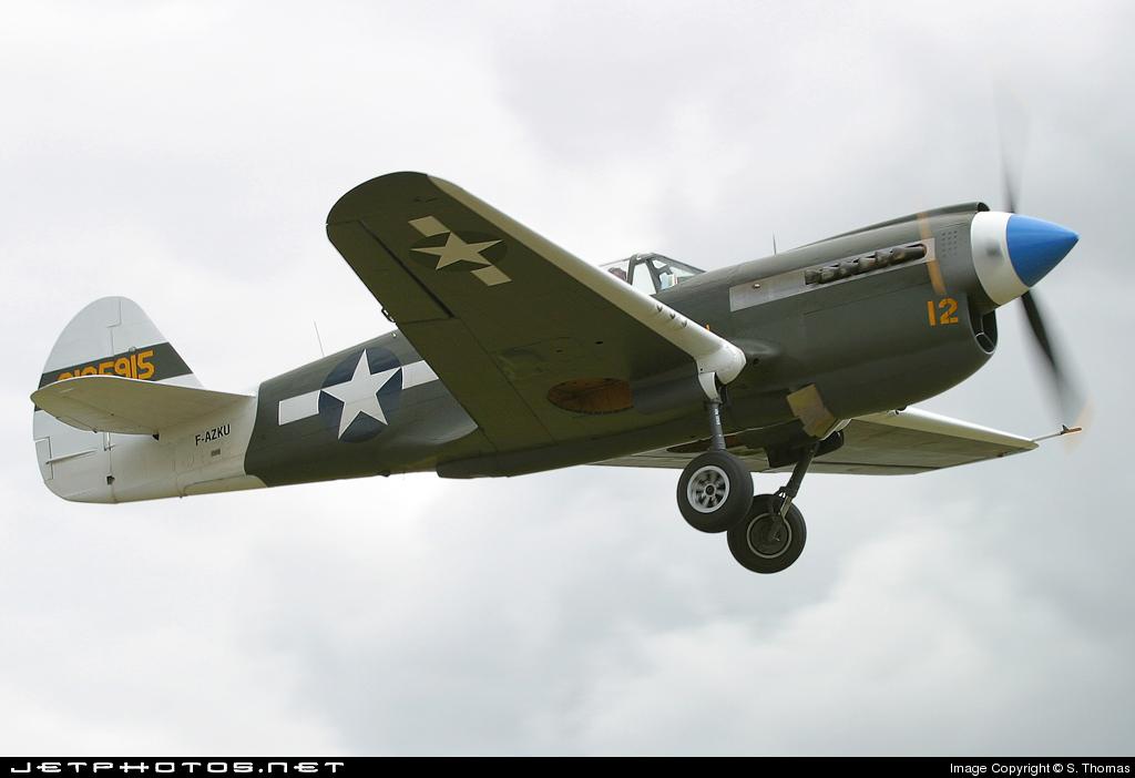 F-AZKU - Curtiss P-40N Kittyhawk - Private