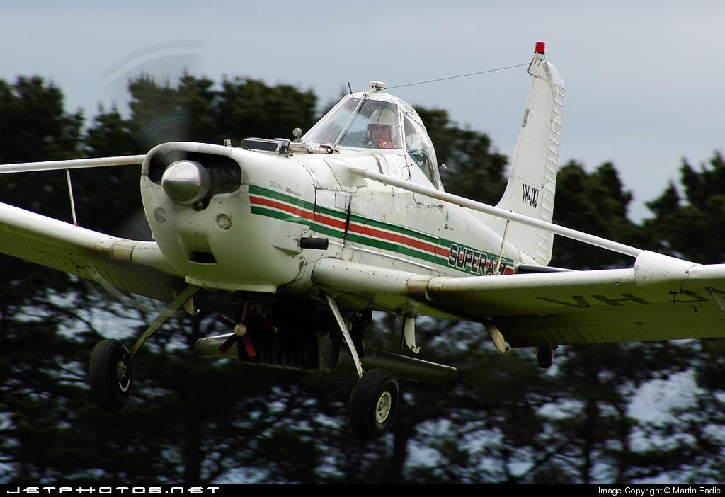 VH-JXJ - Cessna A188B-A1 Ag Truck - Private