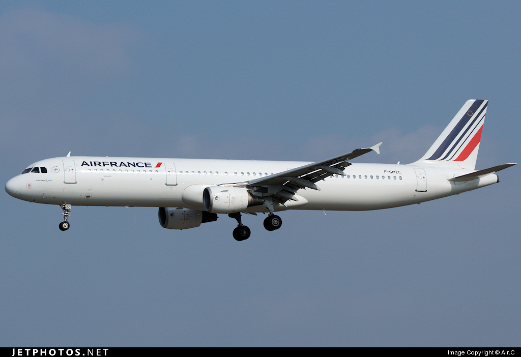 F-GMZC - Airbus A321-111 - Air France