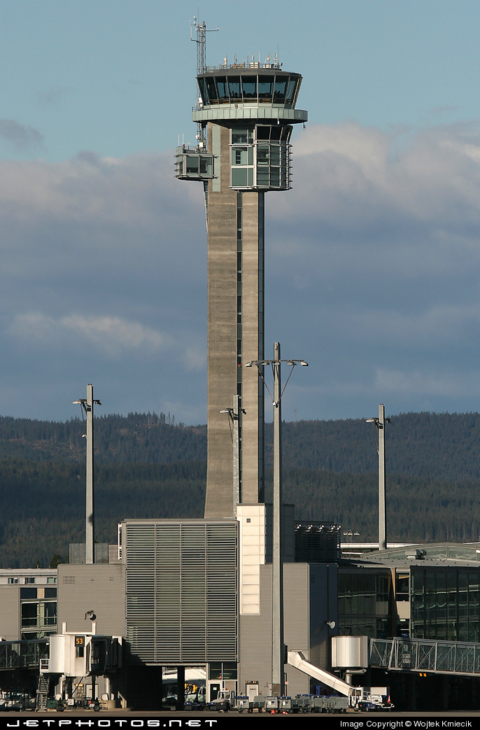 ENGM - Airport - Control Tower