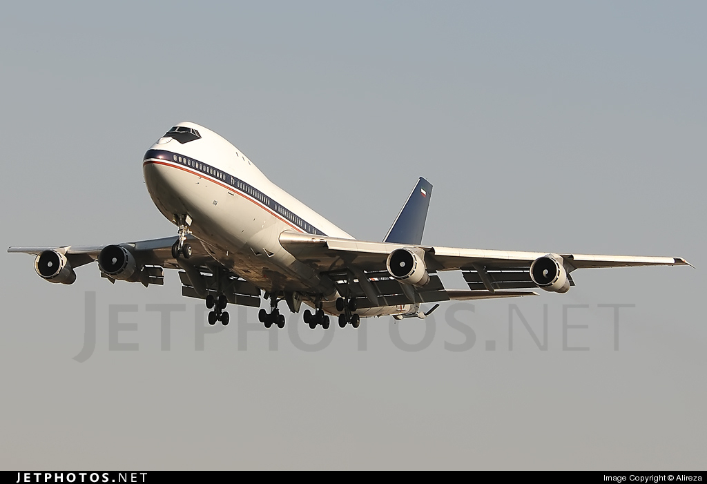 5-8105 - Boeing 747-131 - Iran - Air Force