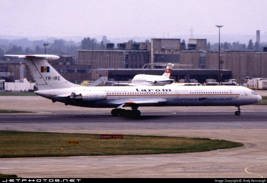YR-IRE - Ilyushin IL-62M - LOT Polish Airlines
