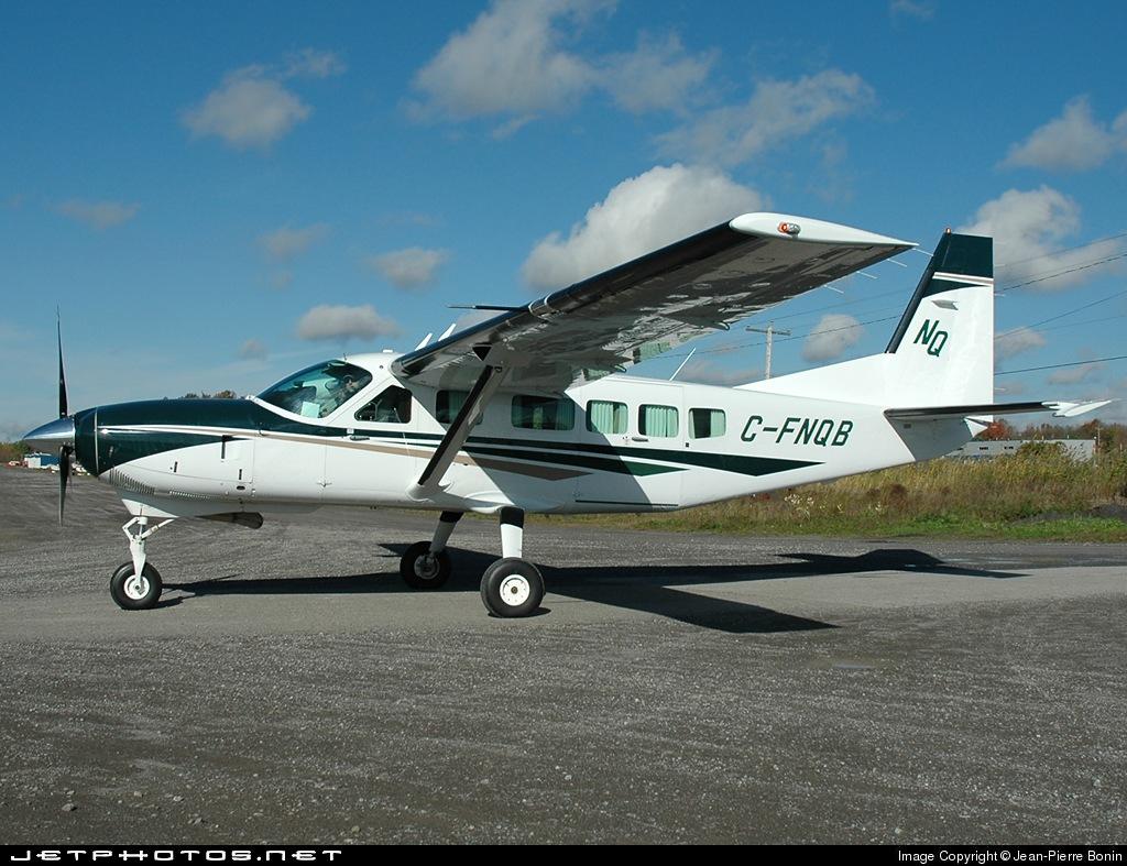 C-FNQB - Cessna 208 Caravan - Private