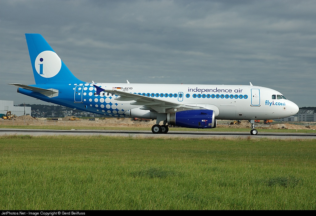 D-AVYD - Airbus A319-132 - Independence Air