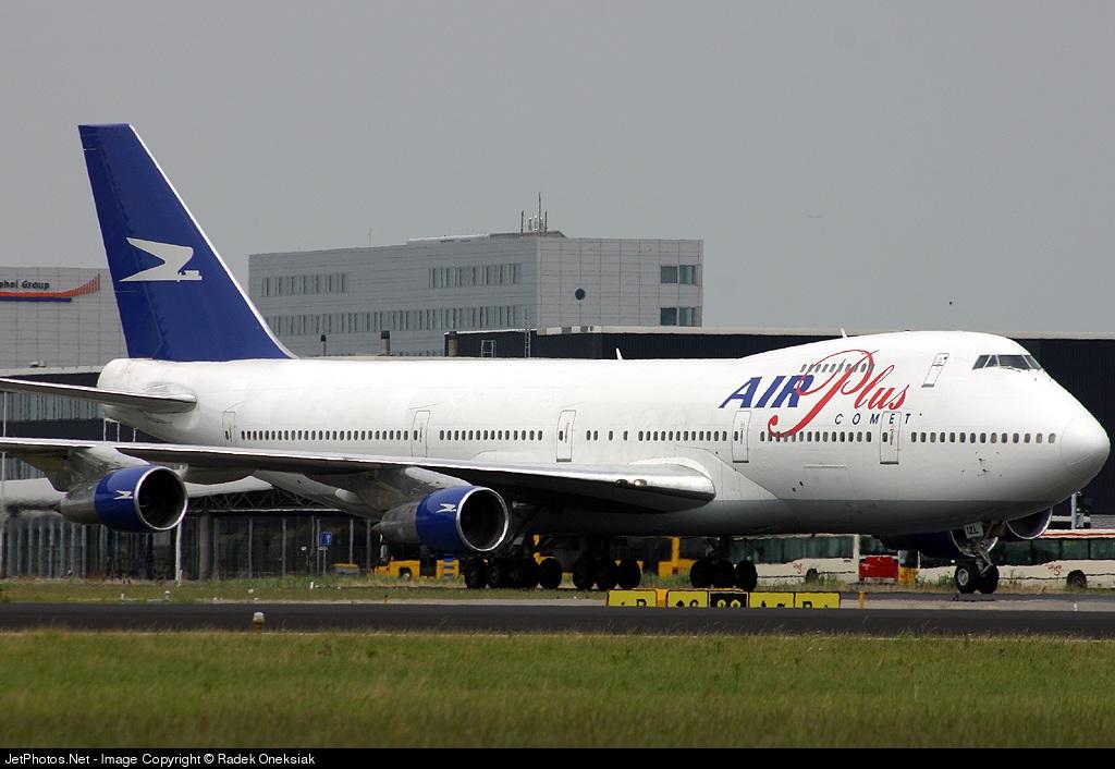 EC-IZL - Boeing 747-287B - Air Plus Comet