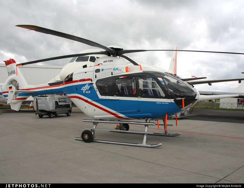 D-HFHS - Eurocopter EC 135T1 - Germany - DLR Flugbetriebe