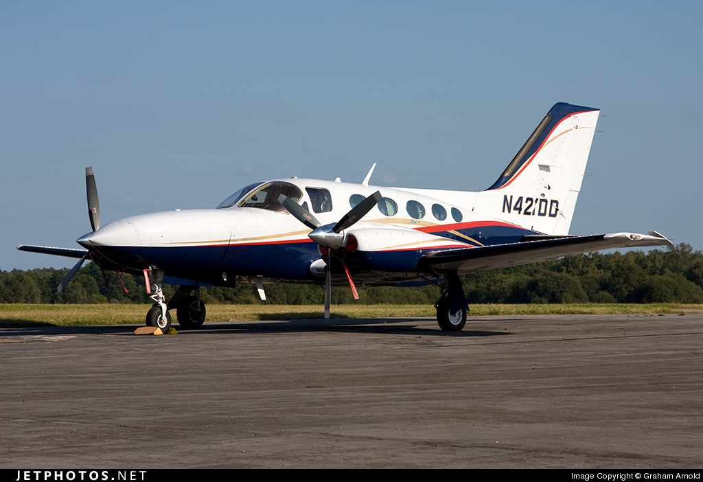 N421DD - Cessna 421C Golden Eagle - Private