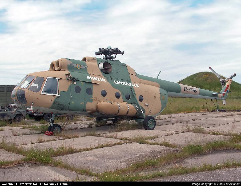 ES-PMB - Mil Mi-8TB Hip - Estonia - Border Guard