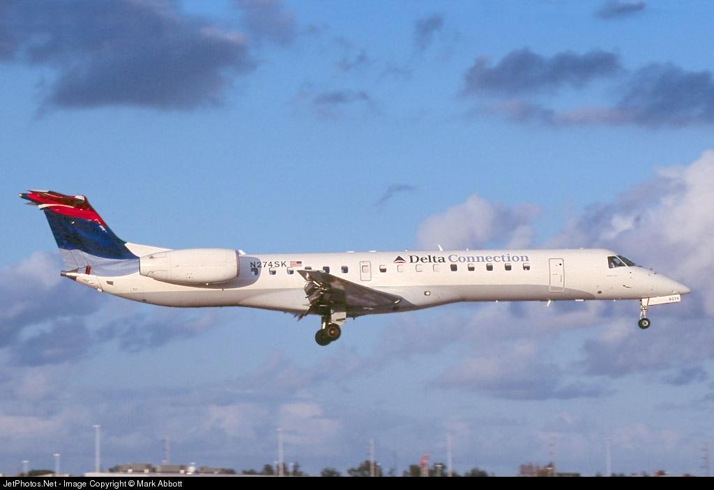N274SK - Embraer ERJ-145LR - Delta Connection (Chautauqua Airlines)
