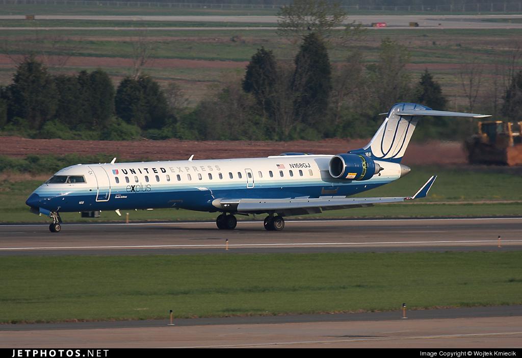 N168GJ - Bombardier CRJ-702 - United Express (GoJet Airlines)