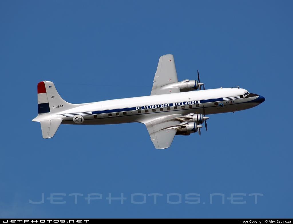 G-APSA - Douglas DC-6A Liftmaster - Atlantic Airlines