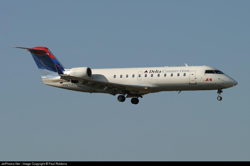 N870AS - Bombardier CRJ-200ER - Delta Connection (Atlantic Southeast Airlines)