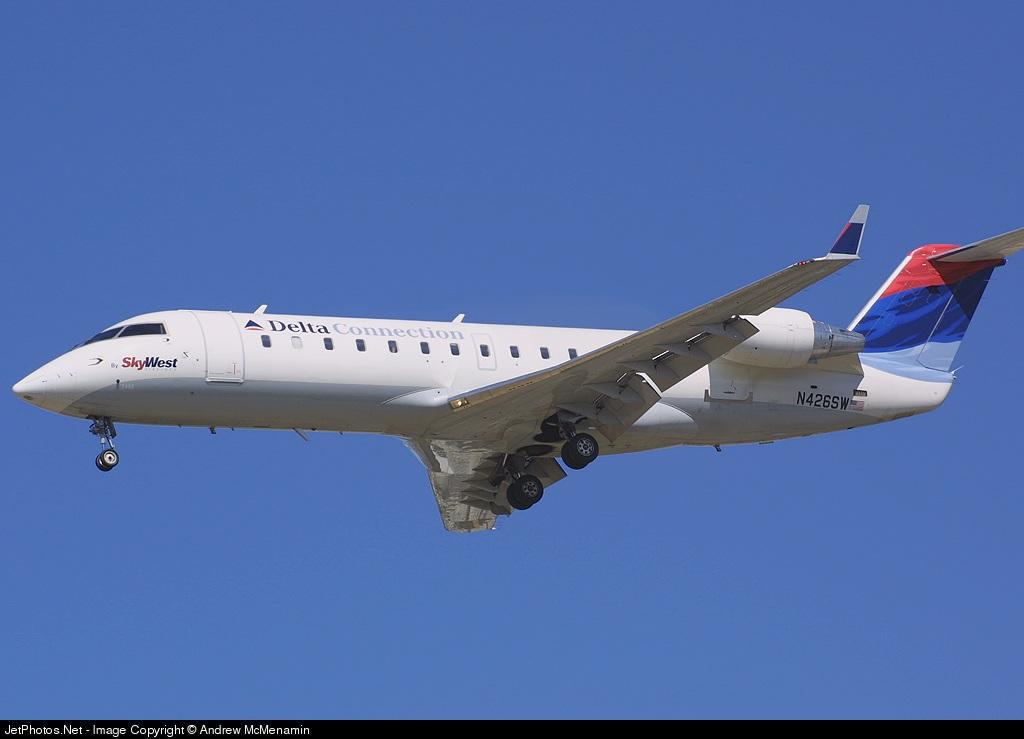 N426SW - Bombardier CRJ-200LR - Delta Connection (SkyWest Airlines)