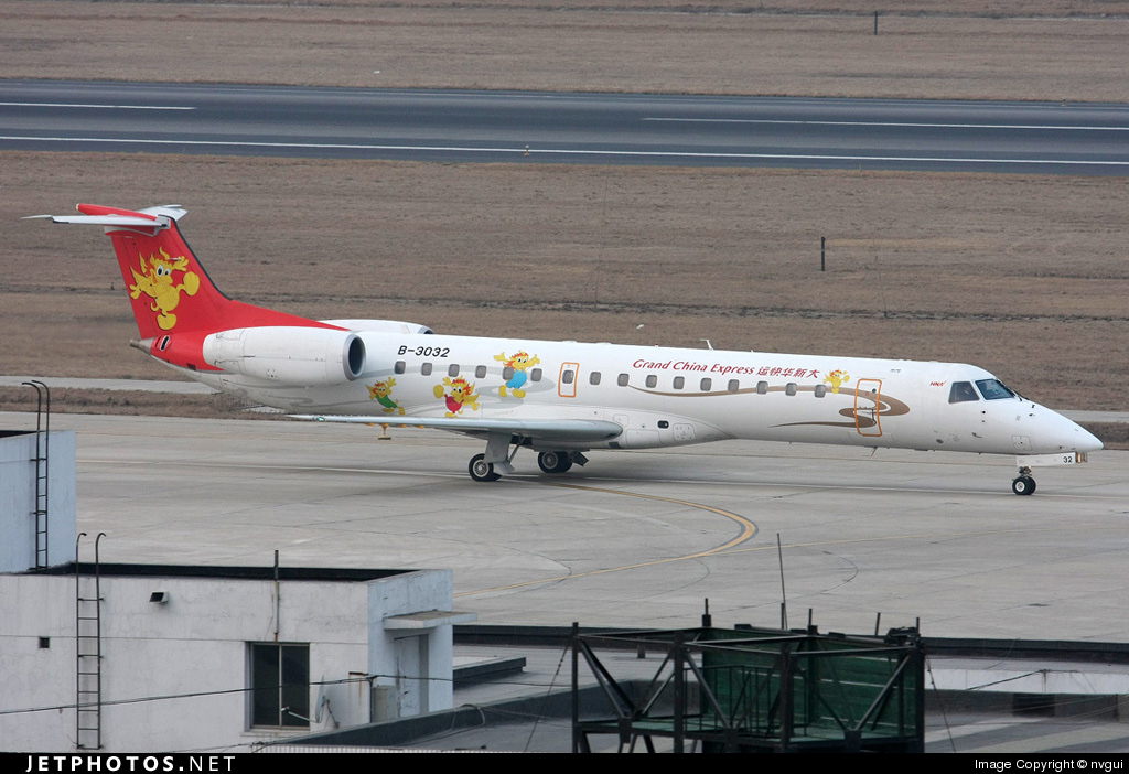 B-3032 - Embraer ERJ-145LI - Grand China Express