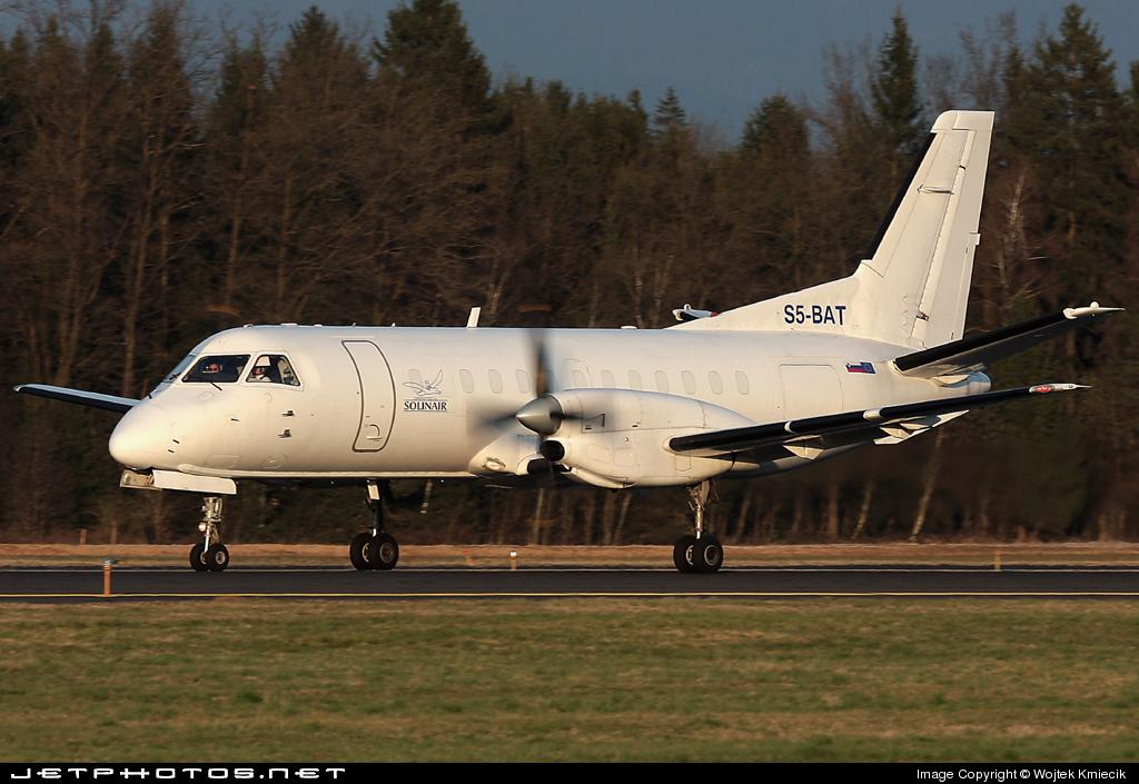 S5-BAT - Saab 340A(F) - Solinair