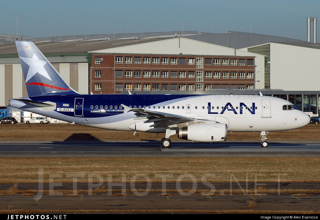 CC-CYL - Airbus A319-132 - LAN Airlines