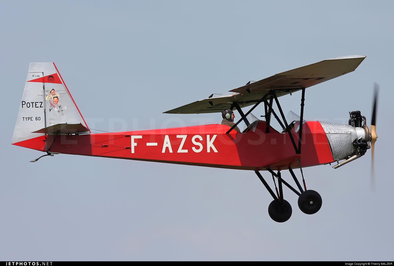 F-AZSK - Potez 60 Sauterelle - Private