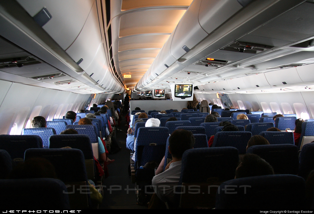 N7076a Airbus A300b4 605r American Airlines Santiago
