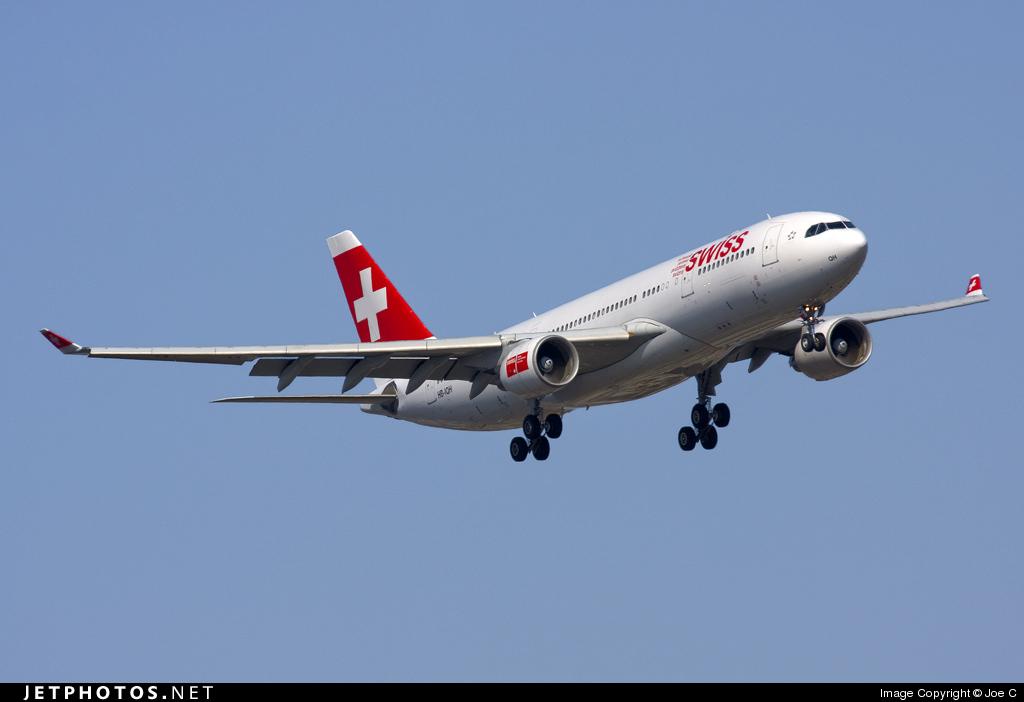 HB-IQH - Airbus A330-223 - Swiss