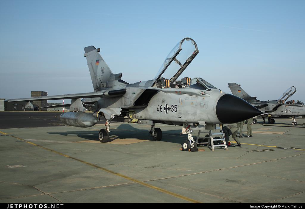 46-35 - Panavia Tornado ECR - Germany - Air Force