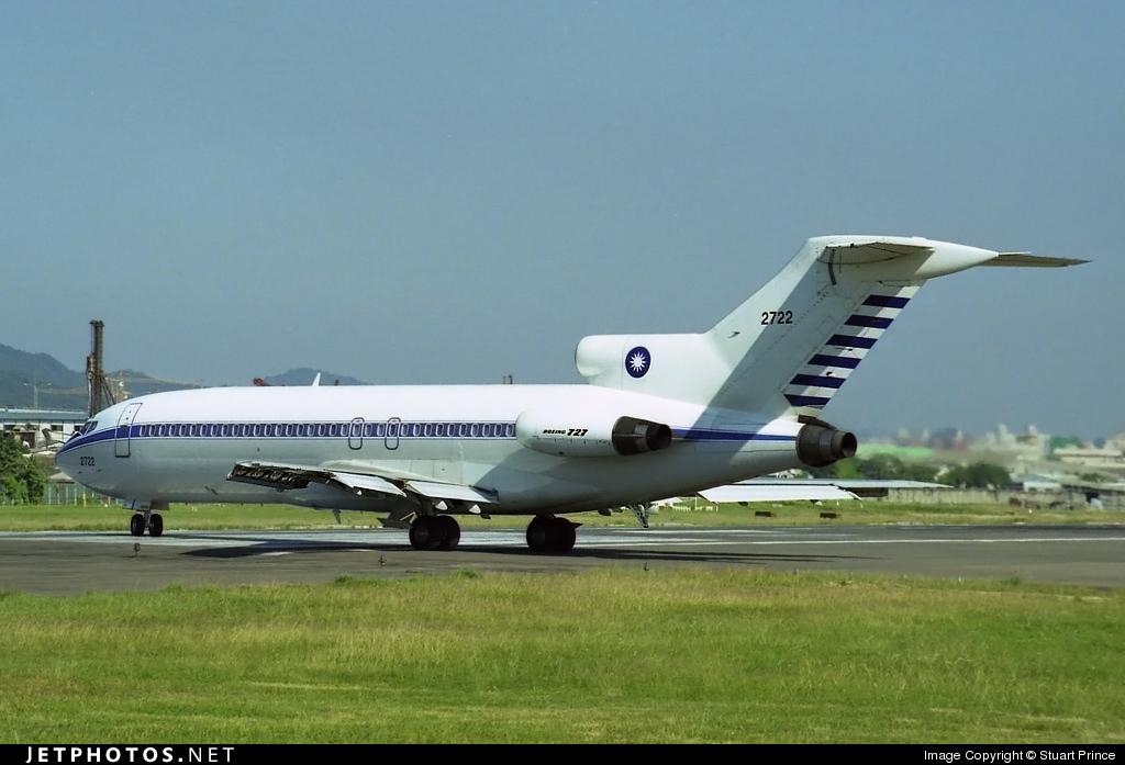 2722 - Boeing 727-109 - Taiwan - Air Force