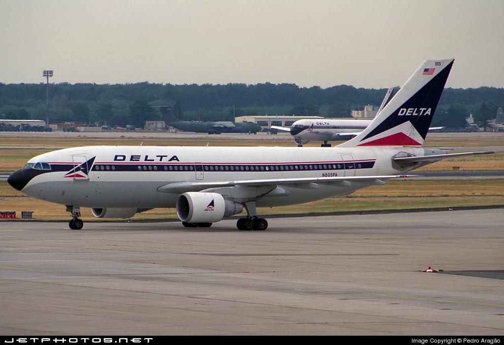 N805PA - Airbus A310-222 - Delta Air Lines