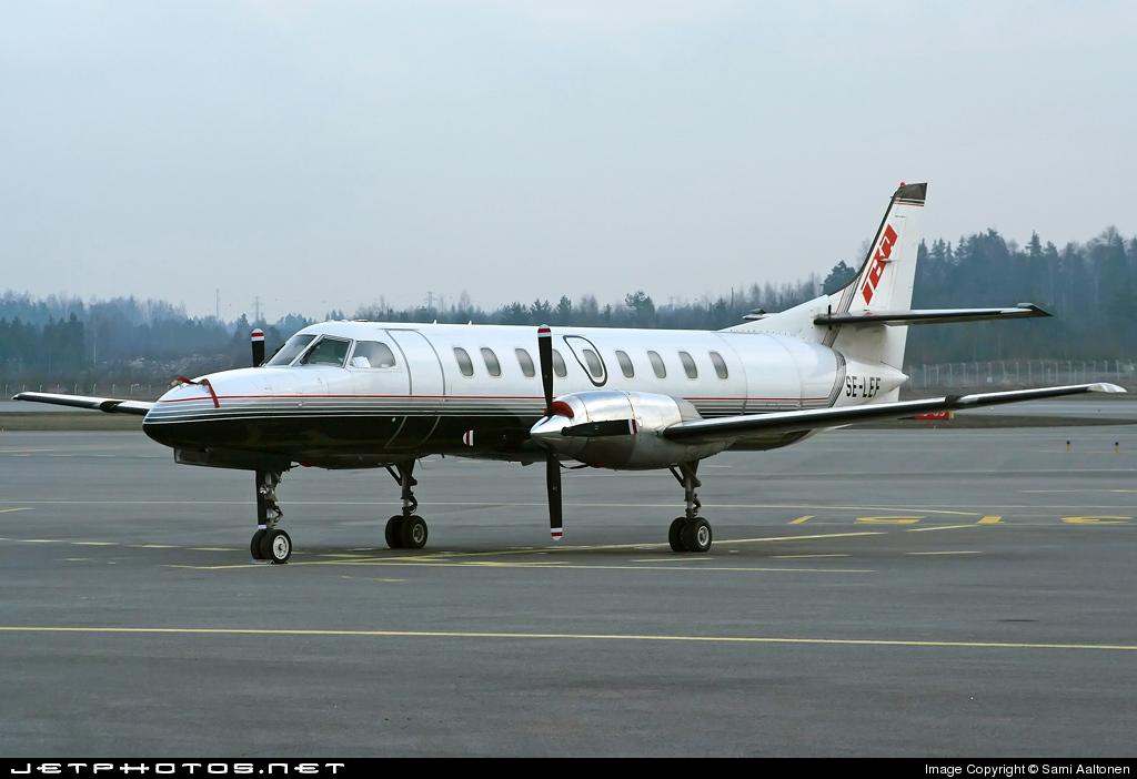 SE-LEF - Fairchild SA227-AC Metro III - International Business Air (IBA)